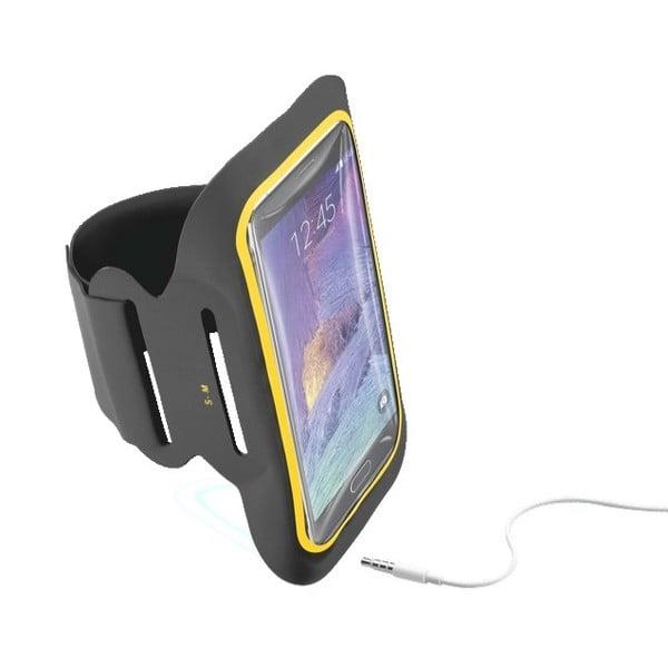 Sportovní soft pouzdro CellularLine XL, černé