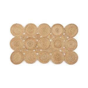 Koberec z juty Linen Couture Rug Natural Yute, 60 x 90 cm