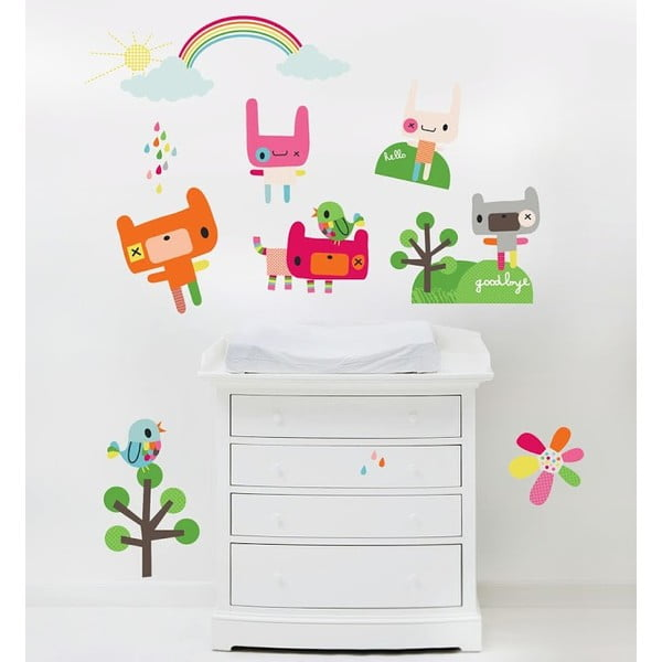 Znovu snímatelná samolepka Rainbow Toys