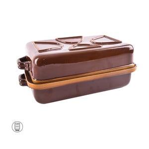 Keramický glazovaný pekáč s víkem Orion Tommy, 41x25cm