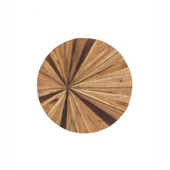 Decorațiune de perete din lemn WOOX LIVING Sun, ⌀ 70 cm imagine