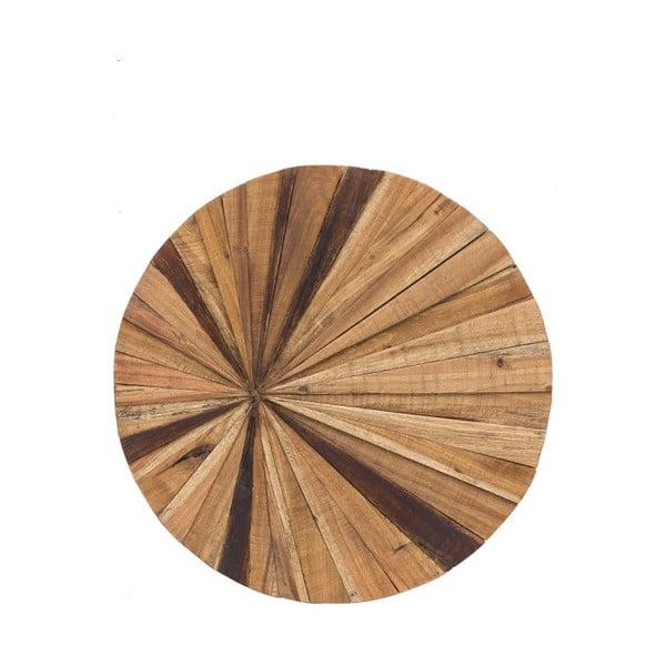 Dřevěná nástěnná dekorace WOOX LIVING Sun, ⌀70cm