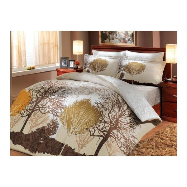 Lenjerie de pat cu cearșaf  To Infinity, 200 x 220 cm