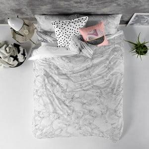 Bavlněný povlak na peřinu Blanc Essence Marble, 240x220cm