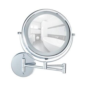 Oglindă cosmetică de perete cu LED Wenko Lumi de la Wenko