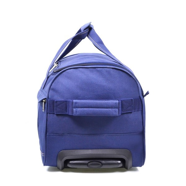 Modrá cestovní taška na kolečkách Hero Matilda,43l