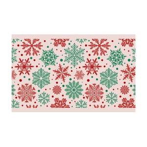 Kuchyňský běhoun Crido Consulting Beige Snowflake, délka 100 cm