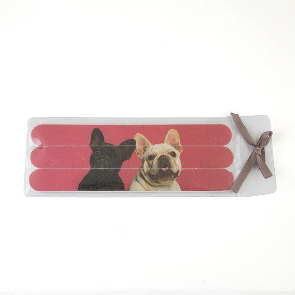 Sada 3 pilníků na nehty Mr & Mrs