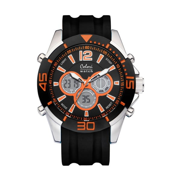 Hodinky Colori 47 Orange/Black