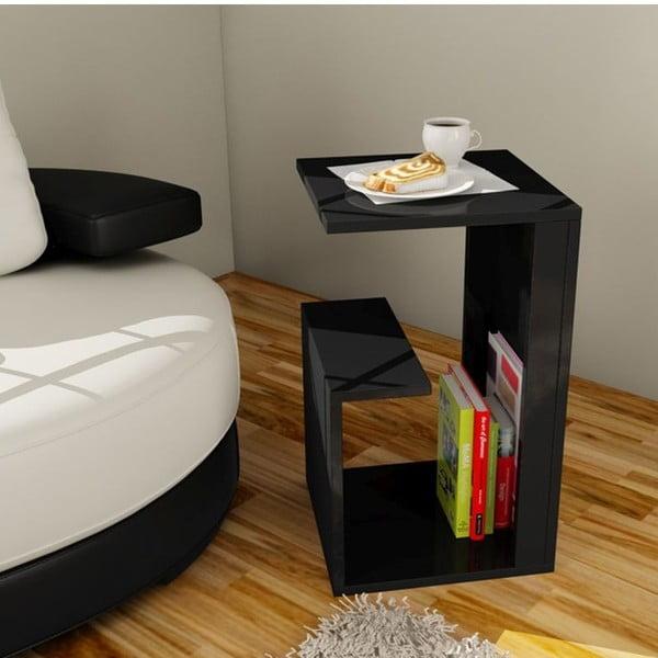 Multifunkční konferenční stolek Menekse Black