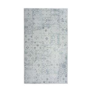Šedý koberec Floorist Mosaic, 80x300cm