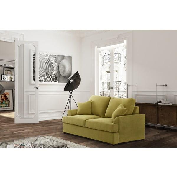 Žlutá dvoumístná pohovka Jalouse Maison Irina