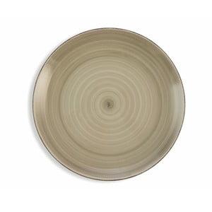 Sada 6 světle šedých talířů Villa d´Este Baita, ø 27 cm