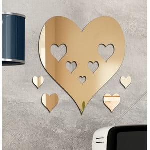 Dekorativní zrcadlo Srdce v srdci