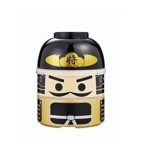 Dětský svačinový box Joli Bento Kokeshi Samurai,850ml