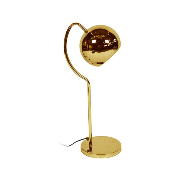 Zlatá stolní lampa Red Cartel Shabby