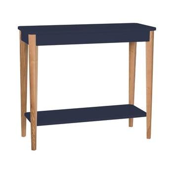 Consolă Ragaba Ashme, lățime 85 cm, albastru grafit imagine