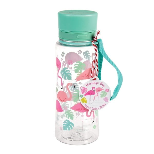 Sticlă de apă Rex London Flamingo Bay, 600 ml