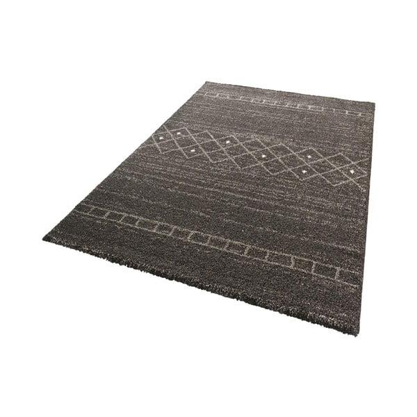 Hnědý koberec Mint Rugs Stripes, 120x170cm