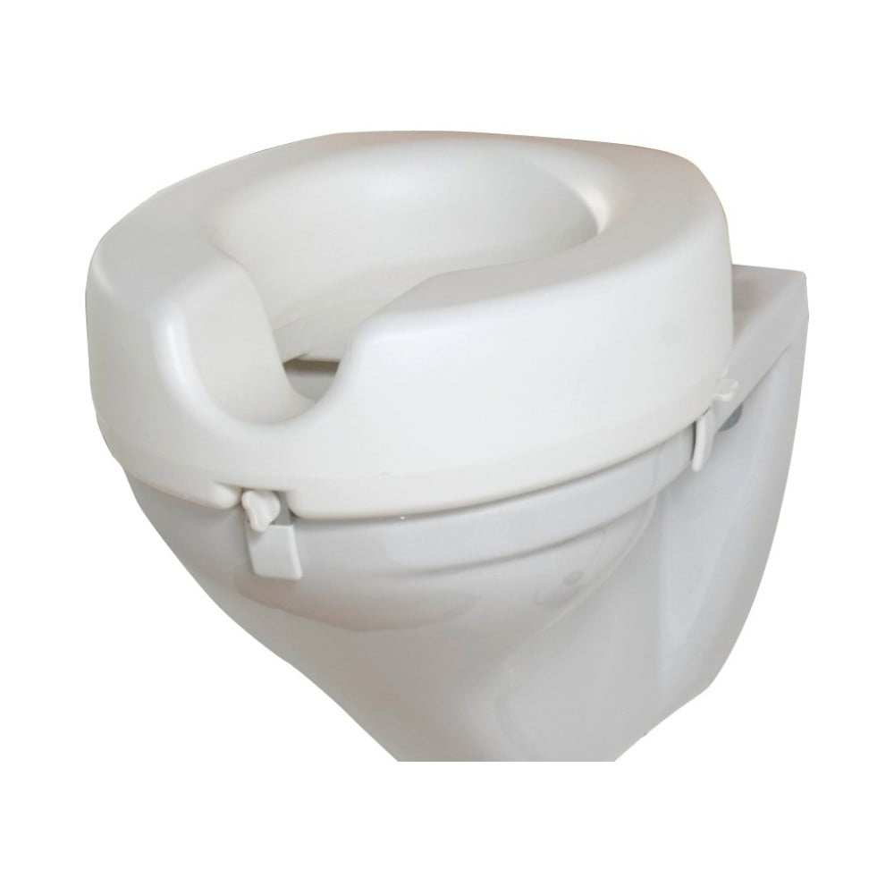 Zvýšené WC sedátko pro seniory Wenko Secura, 44 x 41,5 cm