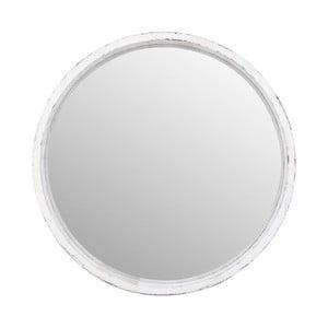 Zrcadlo v rámu z eukalyptového dřeva Moycor Vintage, ⌀ 62 cm