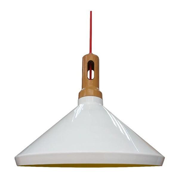 Závěsné světlo Robinson II, bílé