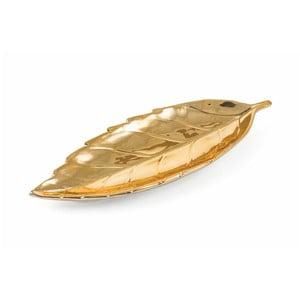 Dekorativní podnos ve zlaté barvě Villa d'Este Chic Piatto Seghettato
