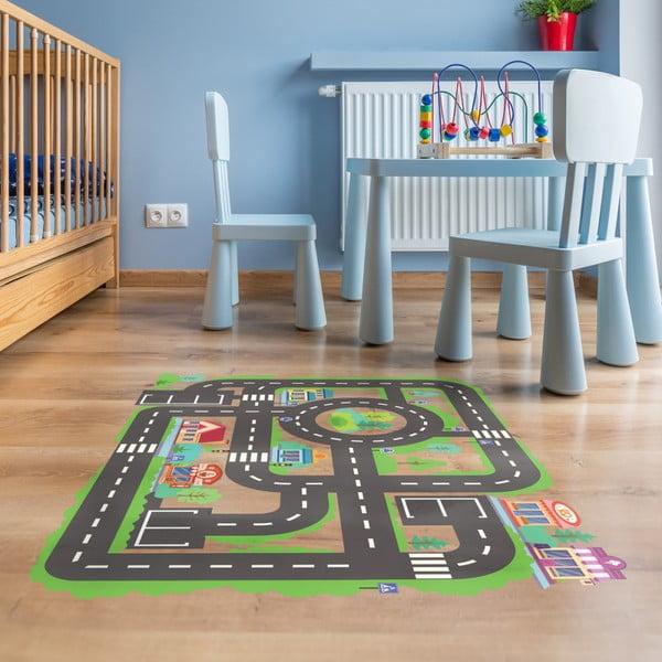 Adhezívny vinylový detský koberec Ambiance Travl