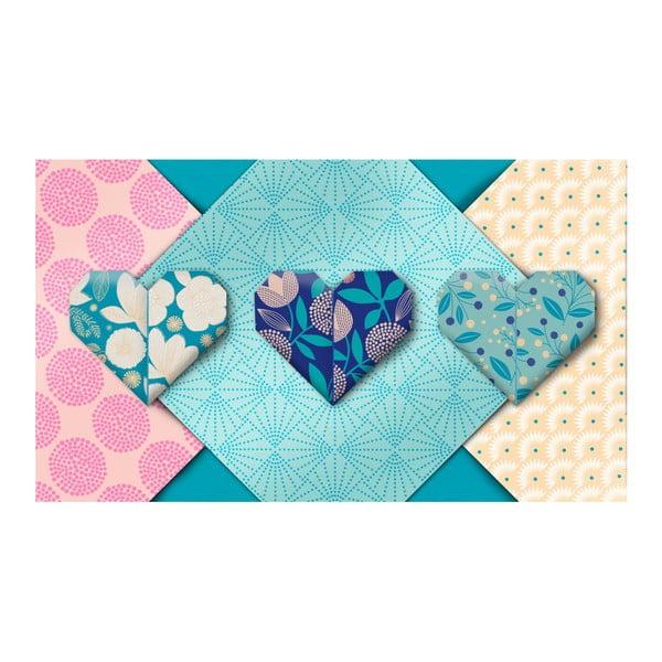 Set origami Mon Petit Art Turquoise