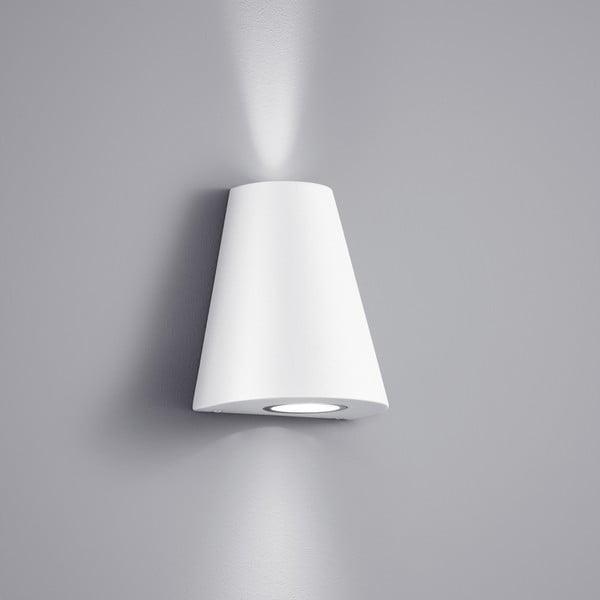 Venkovní nástěnné světlo Niagara White, 17 cm