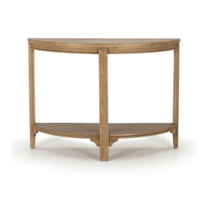 Konzolový stolek z dubového dřeva Vida Living Carmen