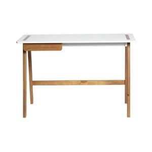 Bílý pracovní stůl Marckeric Dana