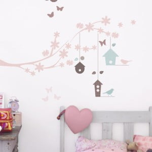 Samolepka na zeď Branches&Bird