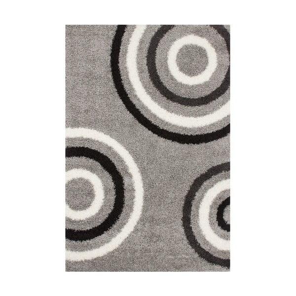 Koberec Silver Circle, 80x150 cm