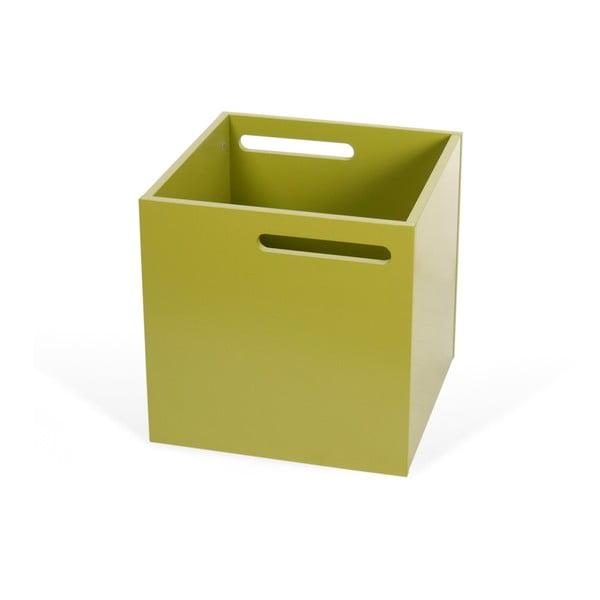 Cutie depozitare pentru bibliotecă TemaHome Berlin, verde