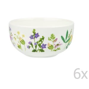 Sada 6 misek Churchill China Himalyan Flowers, 13 cm