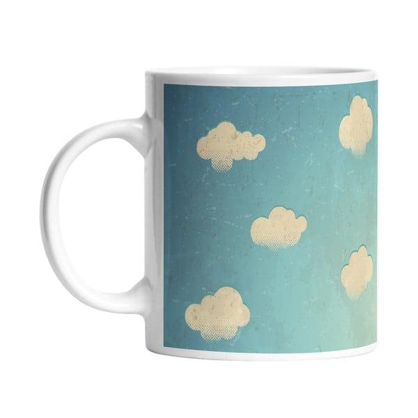 Keramický hrnek White Clouds, 330 ml