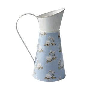 Váza se vzorem, modrá