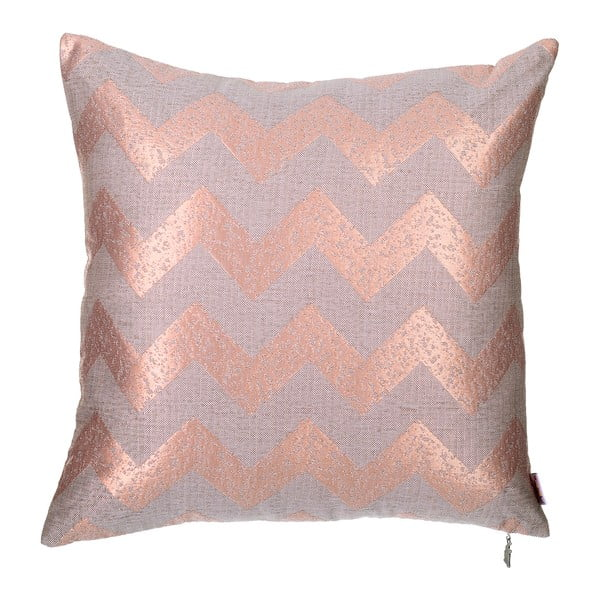 Světle růžový povlak na polštář Apolena Chica, 43 x 43 cm