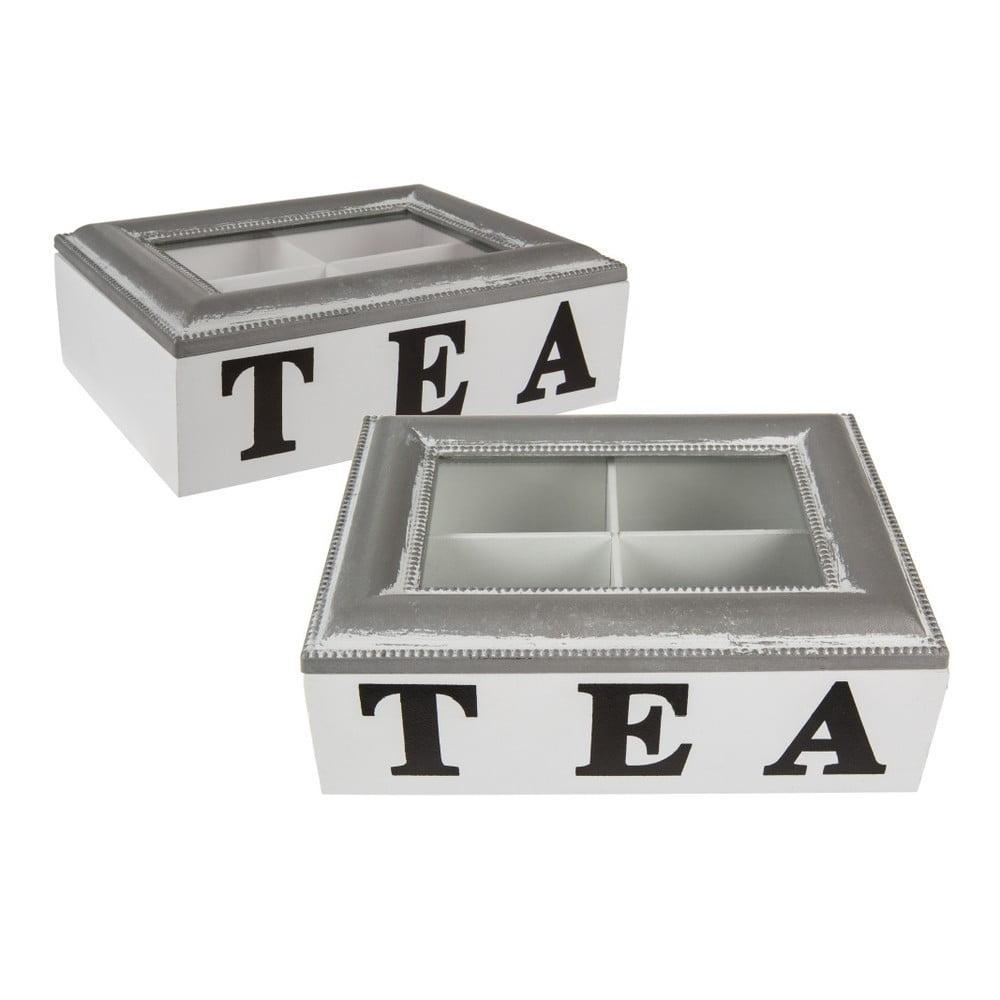 Dřevěná krabička na čaj Out of the Blue