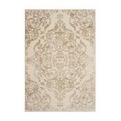 Béžový koberec Safavieh Marigot, 160x228cm
