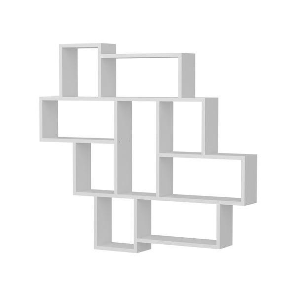 Etajeră de perete Parola, alb