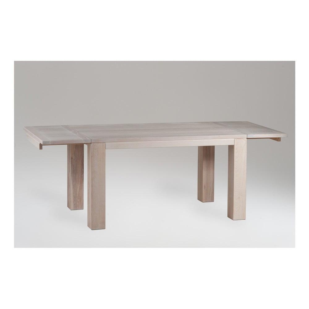 Rozkládací jídelní stůl z jasanového dřeva Castagnetti Nevada, 140 cm