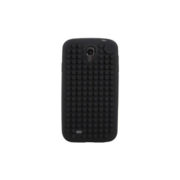 Pixelový obal na Samsung S4, černá