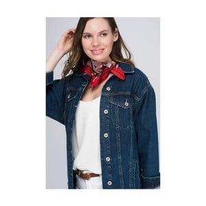 Červený dámský šátek NW, 60 x 60 cm