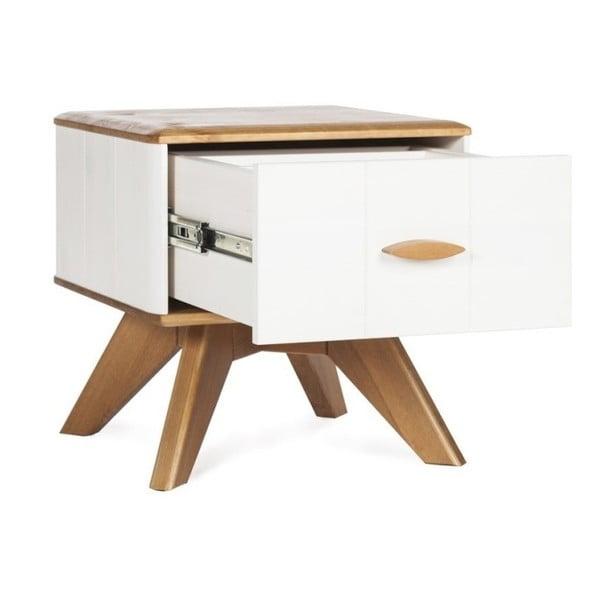 Noční stolek z borovicového dřeva Askala Maru