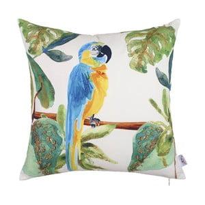 Față de pernă Apolena Hello Parrot, 43 x 43 cm