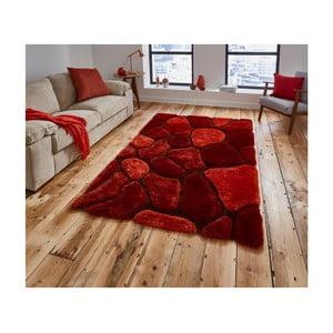 Tmavě červený koberec Think Rugs Noble House, 150x230cm