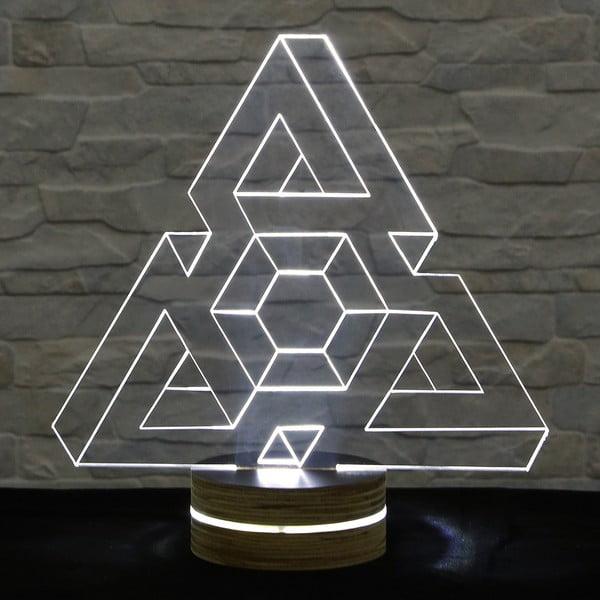 3D stolní lampa Triangle I