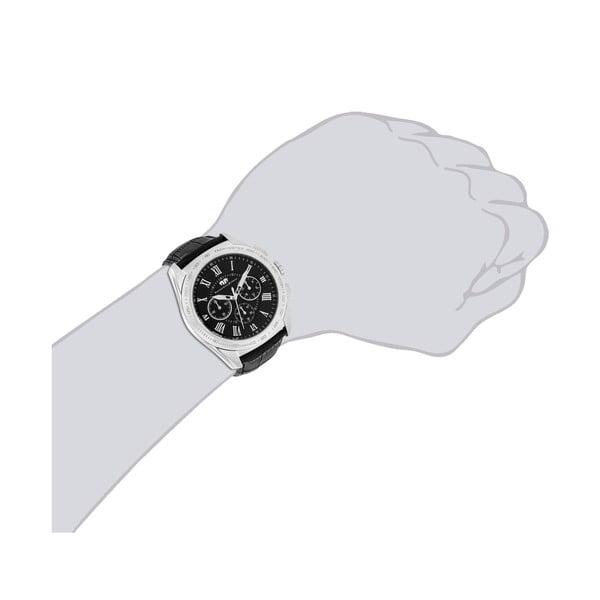 Pánské hodinky Rhodenwald&Söhne Jaxson Black/Silver